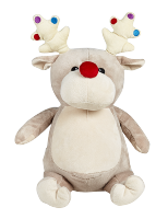 Personalised Cubbies Reindeer Grey